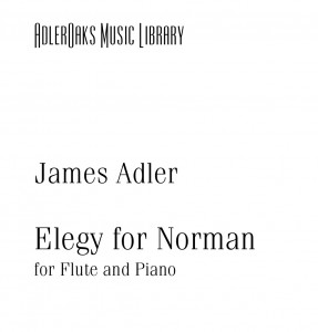 Elegy for Norman - Cover